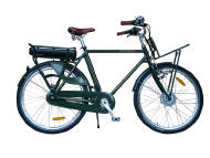 Our francis-barnett bicycle